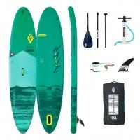 Deska SUP board Aquatone Wave PLUS 12' + wiosło + smycz