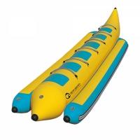 Profesjonalny dmuchany banan 6-osobowy (do użytku komercyjnego)