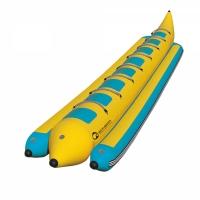 Profesjonalny dmuchany banan 8-osobowy (do użytku komercyjnego)