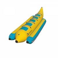 Profesjonalny dmuchany banan 5-osobowy (do użytku komercyjnego)
