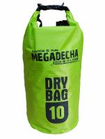 Torba wodoszczelna Megadecha dry bag 10 L green