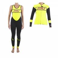 Pianka damska dwuczęściowa na skuter wodny Jet Pilot Race yellow/pink