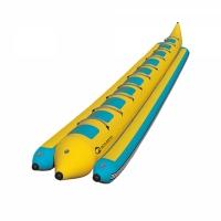 Profesjonalny dmuchany banan 10-osobowy (do użytku komercyjnego)